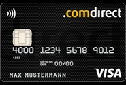 comdirect gemeinschaftskonto visa card kreditkarte