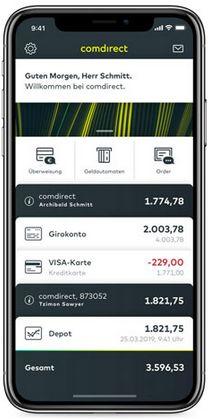 comdirect gemeinschaftskonto app