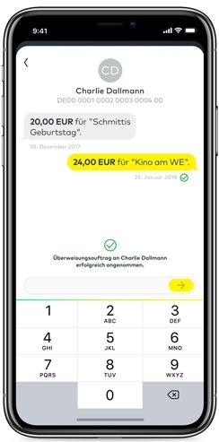 comdirect gemeinschaftskonto app chat überweisung