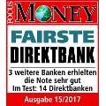 comdirect gemeinschaftskonto testsiegel focus money 2017