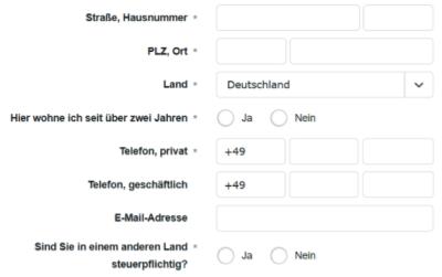 comdirect gemeinschaftskonto eröffnen meldedaten kontaktdaten